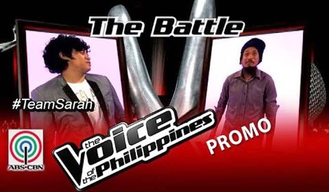 Watch Kokoi Baldo vs Elmerjun Hilario on The Voice of the Philippines Team Sarah's Battles Round