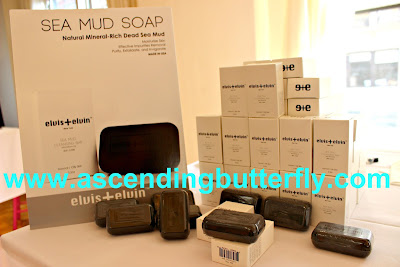 elvis+elvin Sea Mud Soap at BeautyPress Spotlight Day September 2015