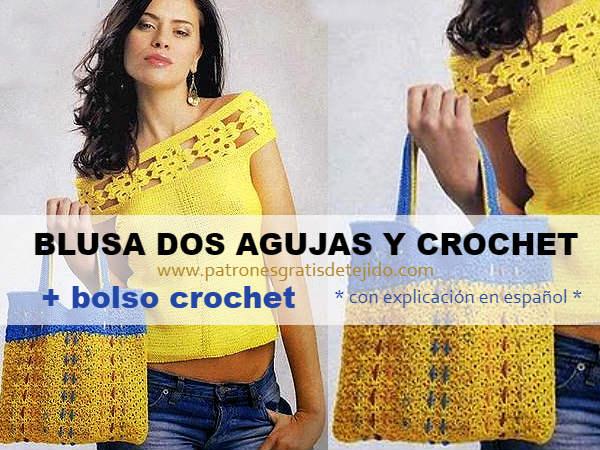 como-tejer-bolso-crochet-blusa-dos-agujas-crochet