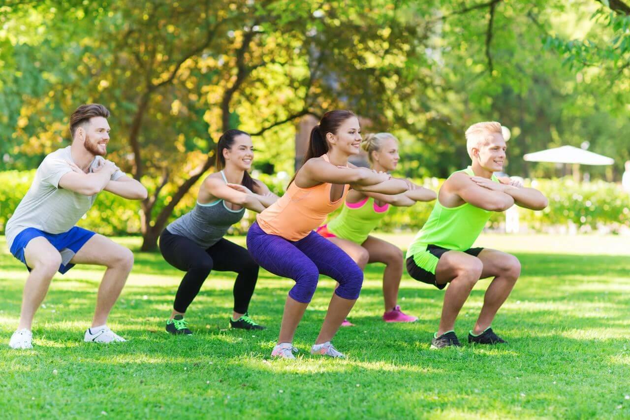 Resultado de imagem para atividade fisica ao ar livre