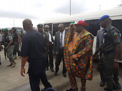 PDP Convention Kicks Off Finally as Dignitaries Arrive.