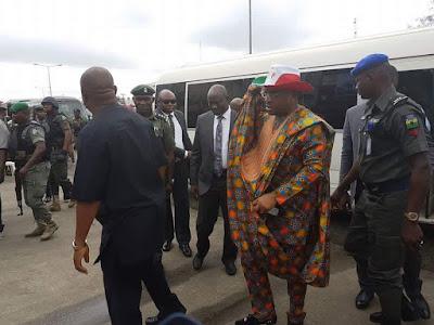 PDP Convention Kicks Off Finally as Dignitaries Arrive (Photos)