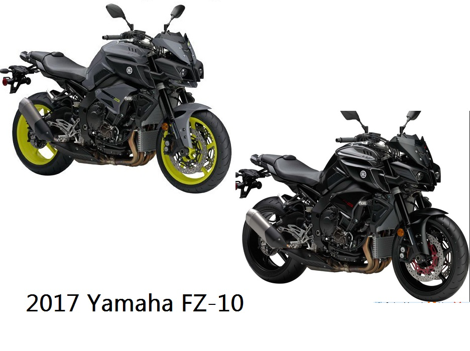 Motorcycle Sport: 2017 Yamaha FZ-10 Owners Manual