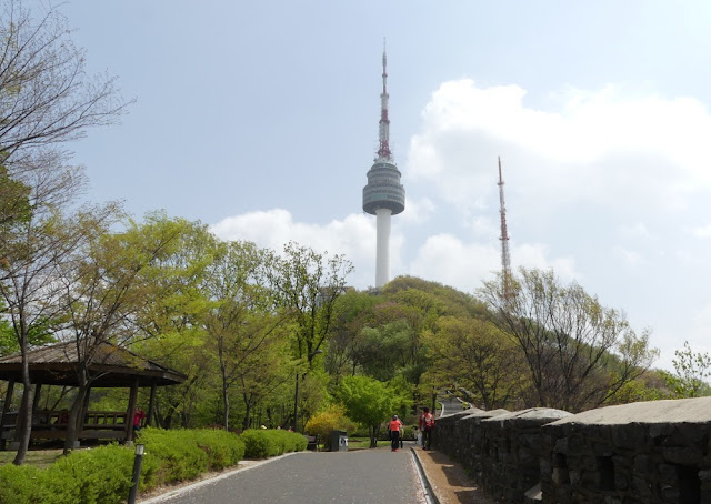 Seoul - Namsan und N Seoul Tower