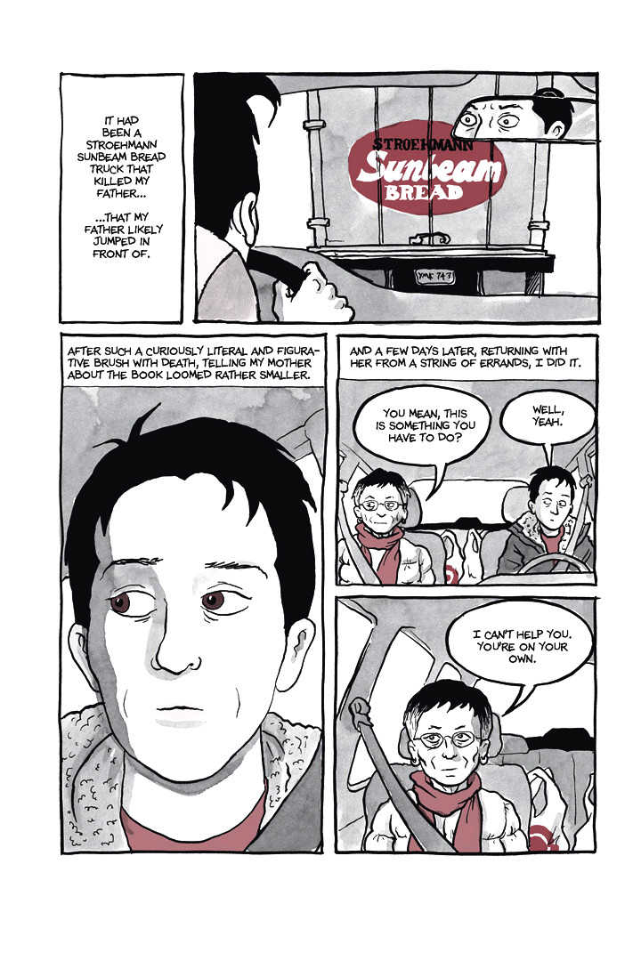 Page 9, Chapter 1: Ordinary Devoted Mother from Alison Bechdel's graphic novel Are You My Mother
