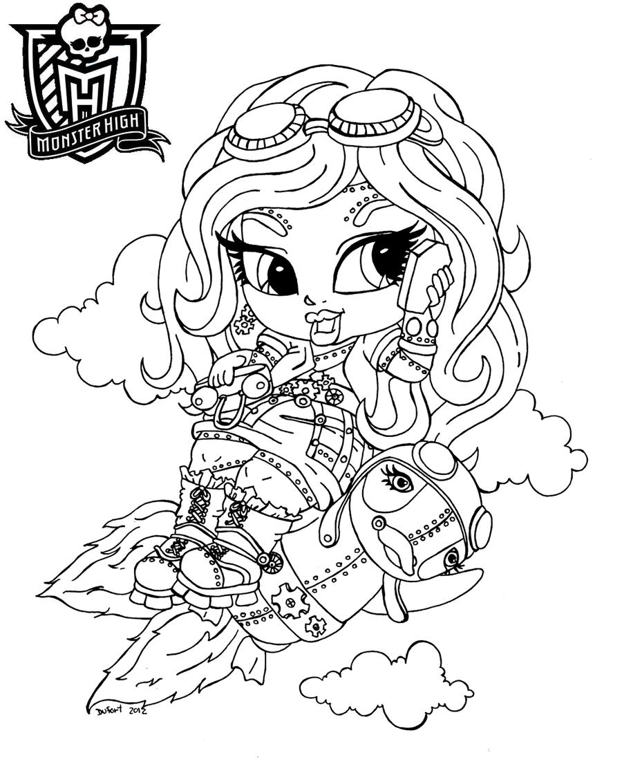 Dibujos Y Plantillas Para Imprimir Dibujos Monster High