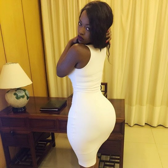 Entertainment, Beauty, Kenya B00TY Queen Corazon Kwamboka Flaunts Her Assets, Corazon Kwamboka,