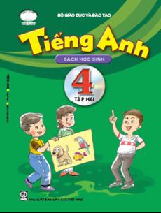 Sách giáo khoa tiếng Anh 4 - Quyển 2