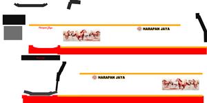 Harapan Jaya Sr2 Double Decker XDD