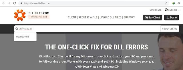Cara memperbaiki DLL saat menjalankan aplikasi