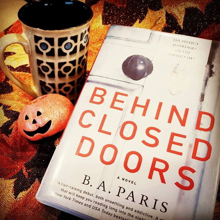That s What She s Reading  October 2016 BOOK REVIEW  Behind Closed Doors by B A  Paris  Thriller