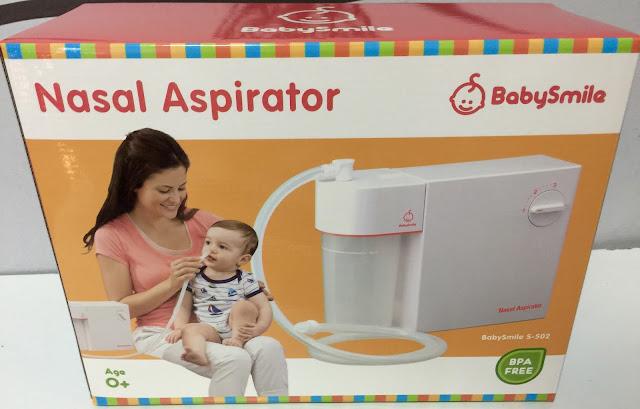 Baby Smile S-502 Nasal Aspirator