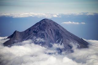 imagen de volcan  popocatepetl mexico