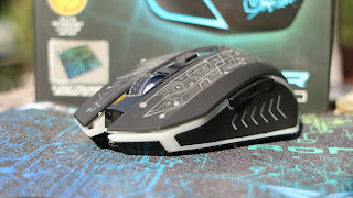 Unboxing dan Review Mouse Gaming X-Craft Air Tron 5000 Alcatroz