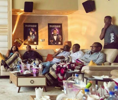 Omotola Jalade Hosts Donald Duke, Dangote And Otedola To Private Viewing Of Her New Movie