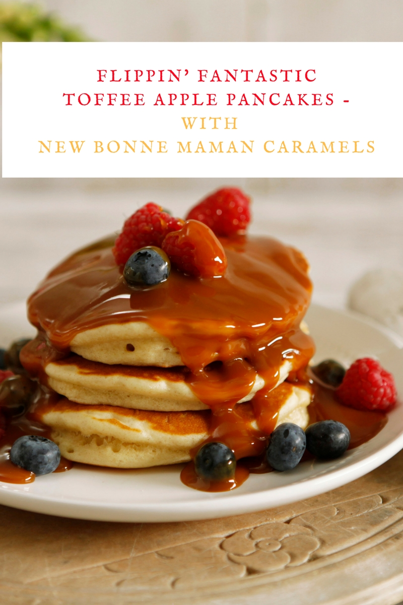 Flippin' Fantastic Toffee Apple Pancakes