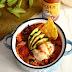 Roasted veggie quinoa chili (vegan + bean-free) / Chili de quinoa y verduras asadas (vegano y sin alubias)
