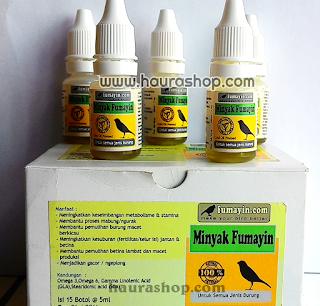 Minyak Fumayin adalah suplemen alami terbaik untuk kesehatan burung Anda.  Essential fatty acids (efa) adalah komponen penting untuk diet sehat