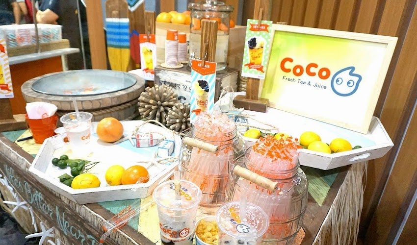 CoCo Fresh Tea and Juice – Your Refreshing Drink On-The-Go opens at SM City Manila