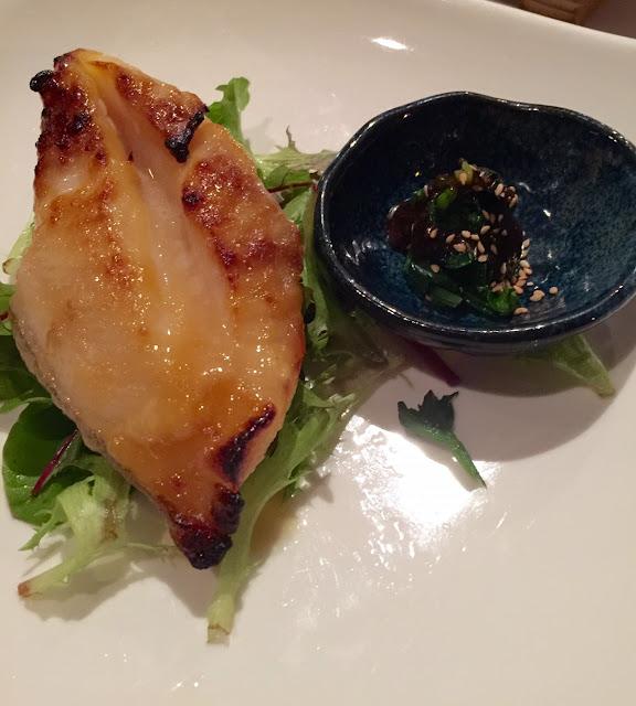 Yokoyama, grilled black cod