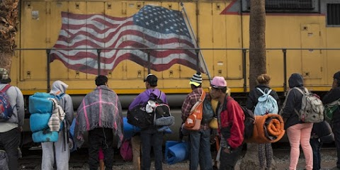 Migránskaraván - Ismét megnyitották az amerikai-mexikói határt
