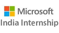 Microsoft Internships in India