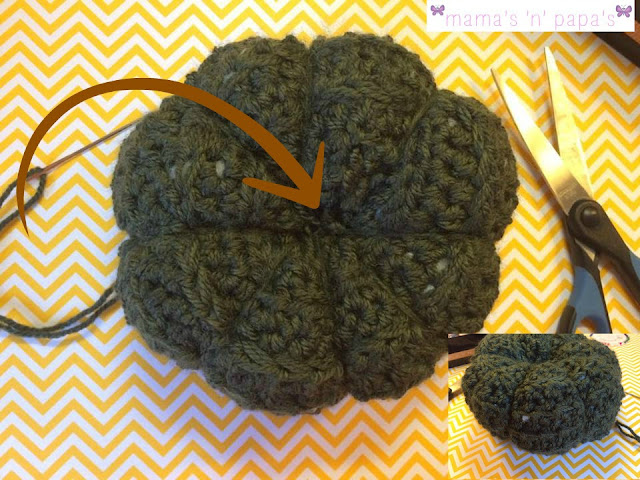 easy pumpkin crochet pattern