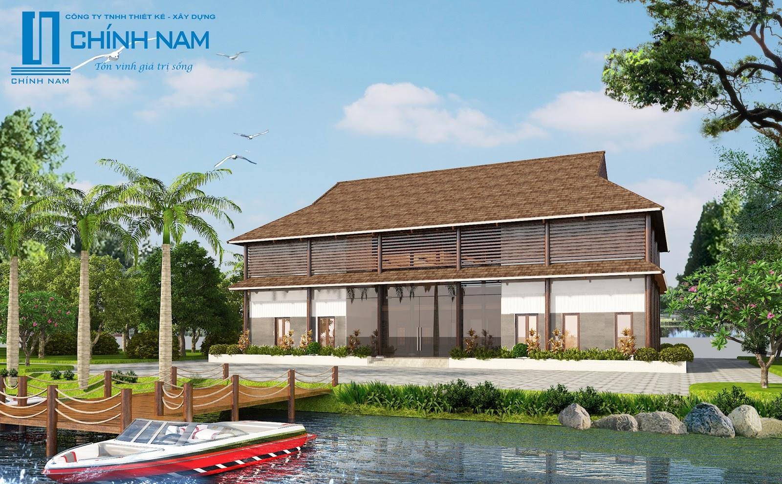 Biệt thự đảo đẹp mê mẫn ở Biên Hòa - Đồng Nai