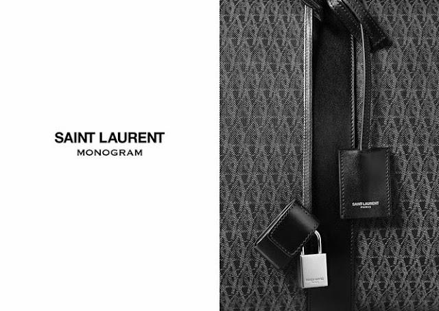 Saint Laurent's New Monogram