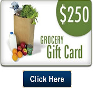 Get a $250 Grocery Gift Card
