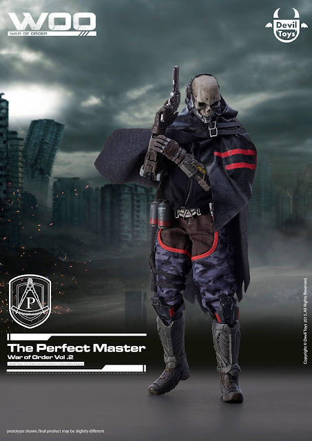osw.zone Devil's Toy War of Order: Vol 02 - The Perfect Master Scale 1/6 Collector's Edition Previews