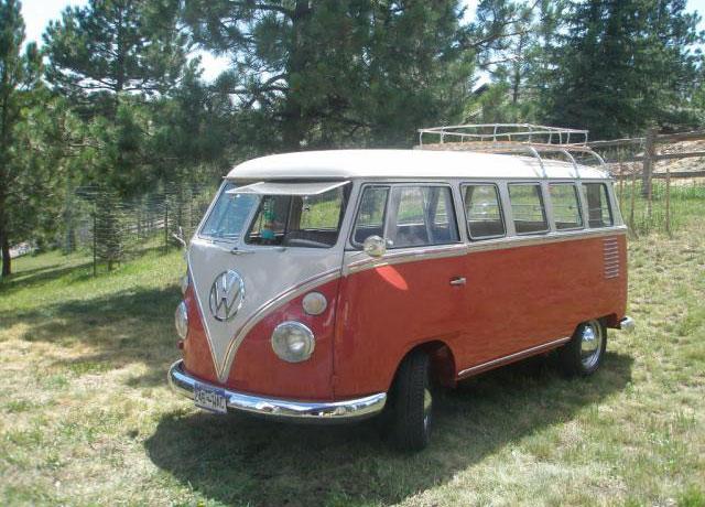 1962 15 Window Deluxe Vw Bus