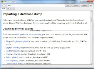 HOW TO ACCESS WIKIPEDIA OFFLINE | PC Tricks And Technology News