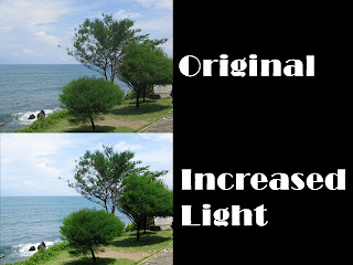 Retouching Image Light Naturally on Photoshop