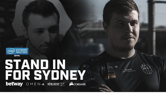 「IEM Sydney 2019」にてXANTARESに代わりBIGにLEGIJAがスタンドイン