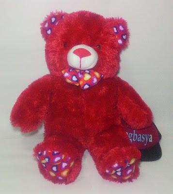 Boneka Beruang Teddy Bear XL Merah