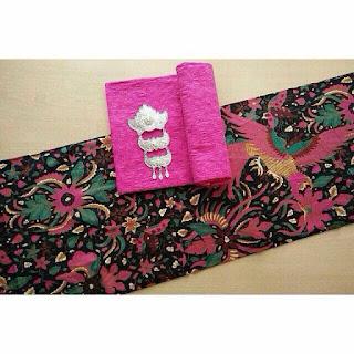 Kain Batik Primis dan Embos 72 pink