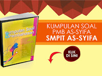 Baru Buku Kumpulan Soal PMB SMPIT As-Syifa 2018