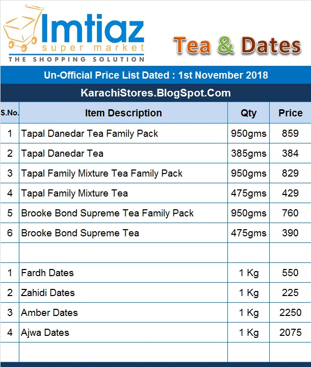 imtiaz super market free home delivery