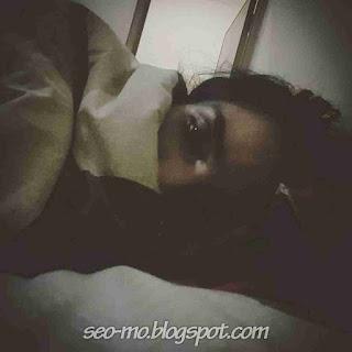 Foto Terbaru Sheila Marcia Joseph sedang Tidur
