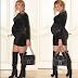 Beyonce slays in all black ensembles