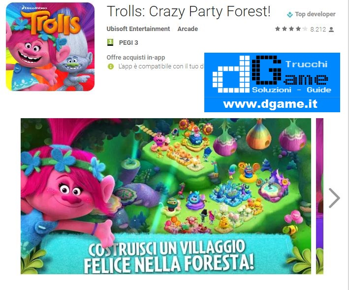 Trucchi Trolls: Crazy Party Forest! Mod Apk Android v1.6.0