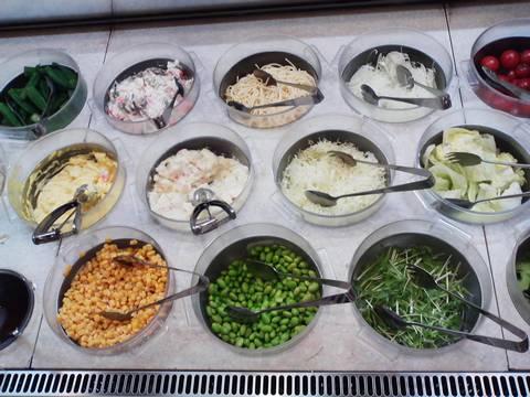 バイキングコーナー(サラダ2) ビッグボーイ一宮若竹店