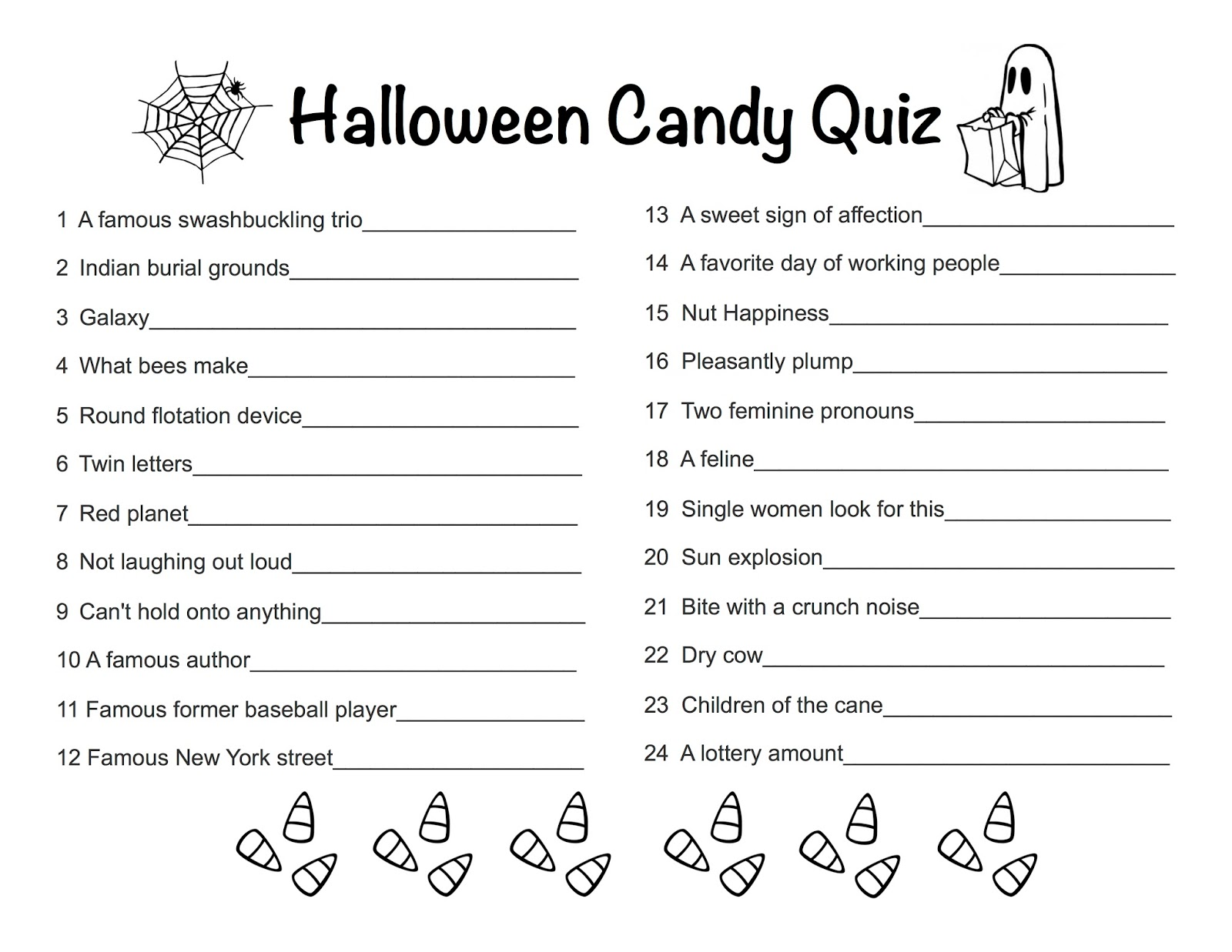Mag Pad News Halloween Candy Quiz