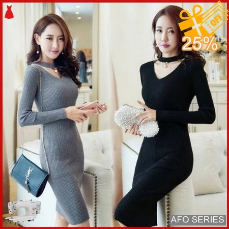 AFO351 Model Fashion Dress Viva Mutiara Modis Murah BMGShop