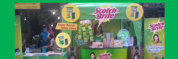 Keseruan #TantanganBersih Scotch-Brite™ di Pasar Bandarjo Ungaran