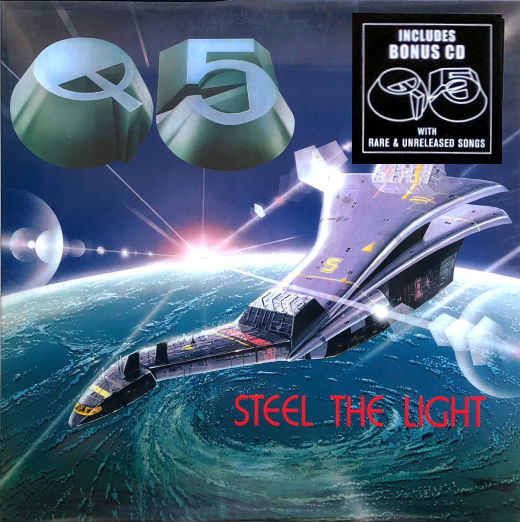 Q5 - Steel The Light [No Remorse Records remaster 2-CD] (2018) full