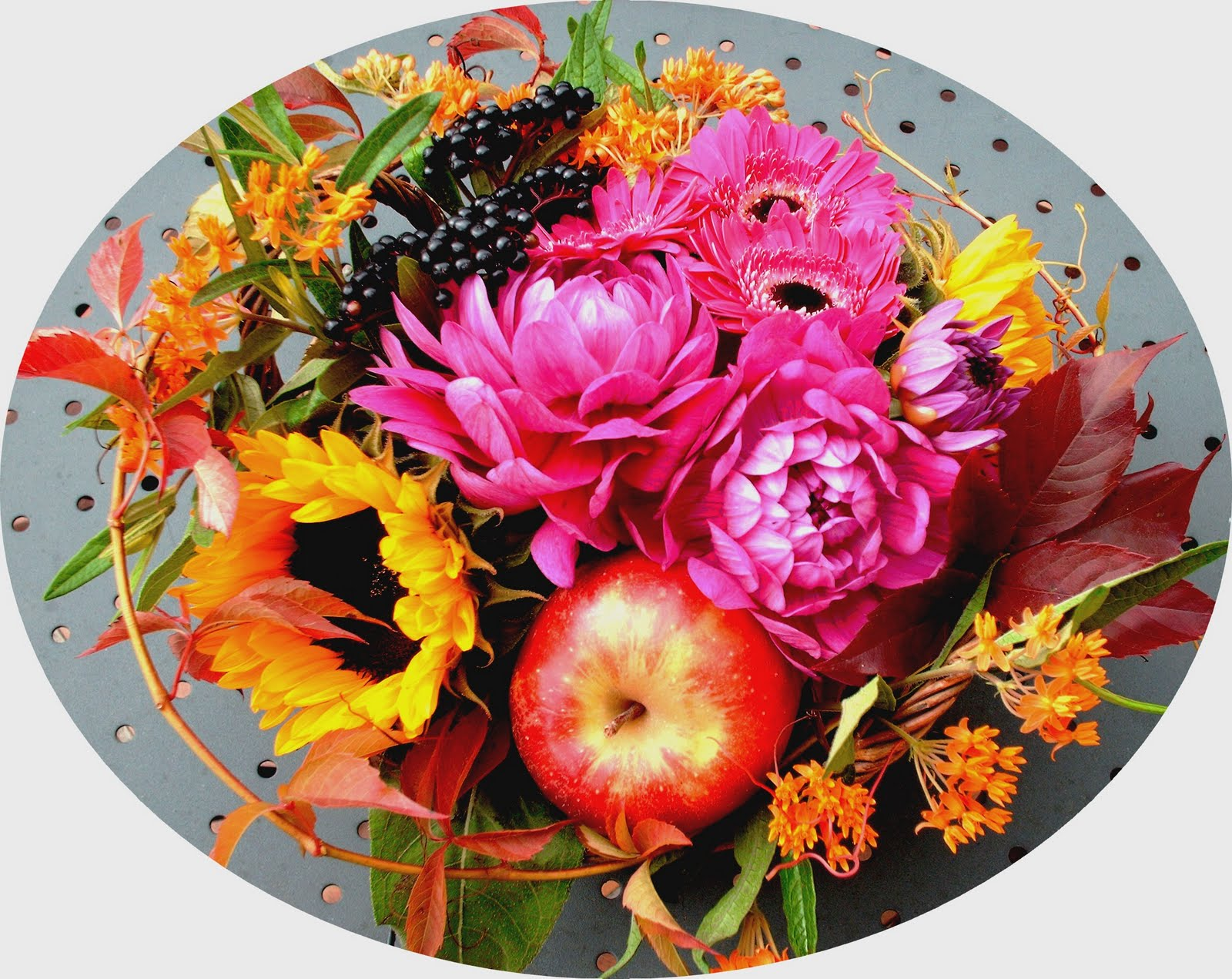 Composer Son Bouquet Fleurs Bouquet Septembre