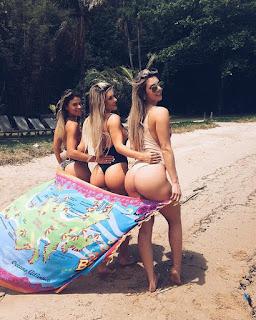Tatiele Polyana mostra 'bumbum na nuca'