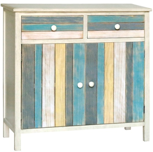 Ocean Seaside Color Cabinet